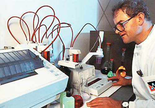 Pre Treat Lab Technician
